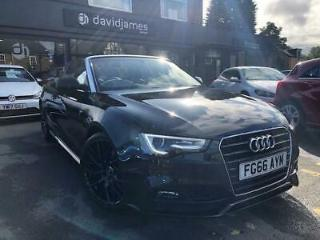 Audi A5 Tdi S Line Special Edition Plus Convertible 2.0 Automatic Diesel