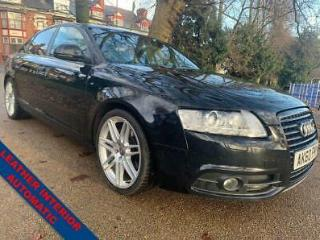AUDI A6 2.0 TDI S LINE SPECIAL EDITION 4D 168 BHP+LEATHER HEATED SEATS D
