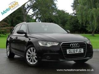 AUDI A6 TDi 177 Start Stop SE Black Manual Diesel, 2012