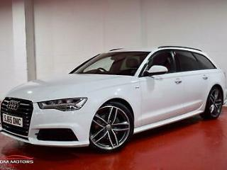 AUDI A6 TDi 190 Ultra S tronic Auto Start Stop S Line Black Edition Ultra 2015