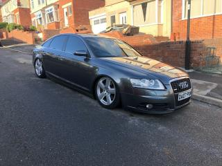 Audi A6 TDI S Line on air ride Bagged