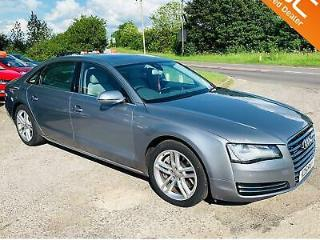 Audi A8 LWB 4.2 TDI Quattro Executive LWB 2011 D4 RARE WITH HUGE SPEC Limo