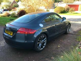Audi TT 2.0 TFSI 3dr Manual Coupe 2008 | Meteor Grey | 18in TTS alloys