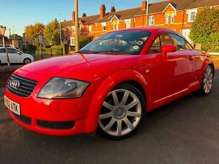 Audi TT Coupe 1.8 T 225bhp 2002 Quattro 4x4 Misano Red Coupe 4WD