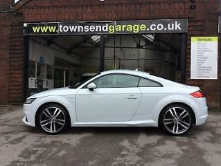 Audi TT Coupe 2.0 TFSI 230ps s/s Tronic 2017MY S Line fsh finance