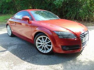 Audi TT Coupe 2.0 TFSI Turbo 2008 Red STUNNING, GREAT HISTORY, LOTS SPENT