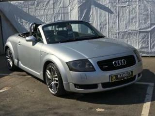 Audi TT Roadster 225 BHP * Quattro Heated Leather* Bose Sound System, 12 Mont