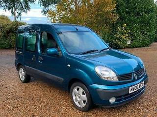 AUTOMATIC Blue 2006 Renault Kangoo 1.6 Expression FREE 3 MONTH WARRANTY