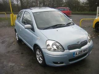 AUTOMATIC Toyota Yaris 1.3 VVT i auto T Spirit, LOW MILES 20800 MILES REDUCED