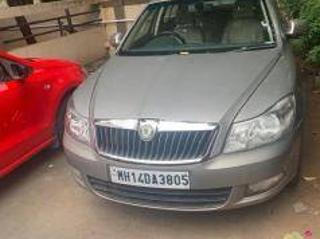 Beige 2011 Skoda Laura Ambiente 2.0 TDI CR MT 40,000 kms driven in Wakad
