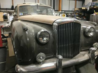 BENTLEY S 1956 UNFINISHED PROJECT