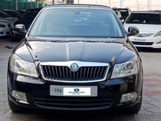 Black 2010 Skoda Laura Ambiente 2.0 TDI CR MT 1,78,000 kms driven in Tatabad