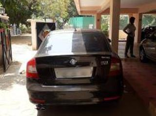 Black 2011 Skoda Laura New 1.9 TDI AT Elegance 200000 kms driven in Saibaba Colony