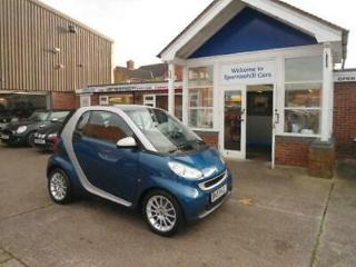 Blue Automatic Smart fortwo 1.0 71bhp Passion