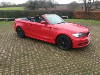 BMW 118SE AUTOMATIC CONVERTIBLE 2008 BARGAIN PRICE