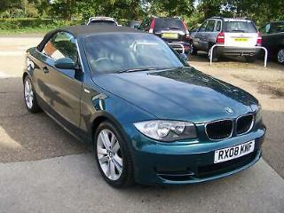 BMW 120 2.0 2008MY i SE Convertible