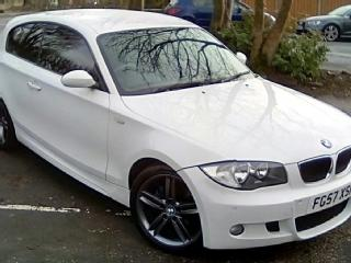 BMW 120I M SPORT 3DR / 18 ALLOYS / 11 SERVICE STAMPS / WHITE