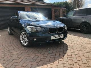 BMW 1 SERIES 114iSE 1.6 PETROL 62 PLATE CHEAP TAX 2 FORMER KEEPERS 65000 MILES