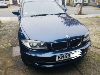BMW 1 Series 116i Petrol 2010 Blue Hatchback