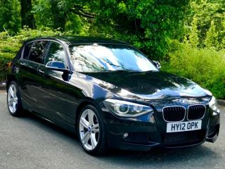 2012 Bmw 1 series 118D M Sport Auto 2.0 fully leather and Xenon lights