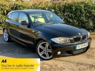 BMW 1 SERIES 123d M SPORT 5dr Manual + RARE LOW MILES, GOOD SPEC + 2009