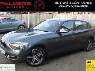 BMW 1 Series 1.6 116i Sport 5dr, 2014 14 Reg, Hatchback, Manual, Petrol, Grey