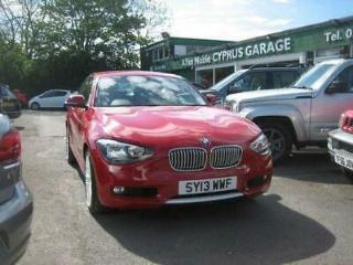 BMW 1 Series 1.6 118i Urban Sports Hatch 3dr PETROL MANUAL 2013/13