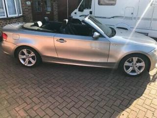 Bmw 1 series convertible 2.0i 6 speed fully loaded