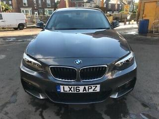 Bmw 220d auto sport 2016 in grey only 33000 miles full MOT full service
