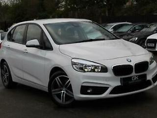 BMW 2 Series 216D SPORT ACTIVE TOURER EURO 6 LEATHER SAT NAV BLUETOOTH FREE