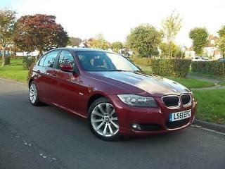 BMW 320 2.0i SE AUTOMATIC 4 DOOR SALOON RARE CORAL RED COLOUR