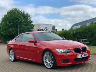 BMW 320 2.0TD auto 2007MY d M Sport Coupe,Leather,Heated seats
