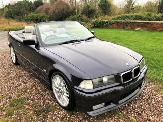 BMW 323i E36 *SPORT PACKAGE* AUTO CONVERTIBLE MADEIRA VIOLET DOVE GREY LEATHER