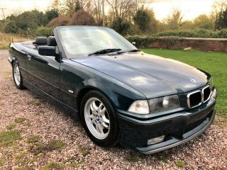 BMW 328i E36 MANUAL SPORT PACKAGE BOSTON GREEN VERY LOW MILEAGE 36,000 MILES!