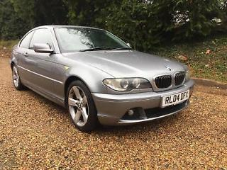 BMW 330TD CD SE AUTO FULL BLACK LEATHER AUTO 133K NEW MOT