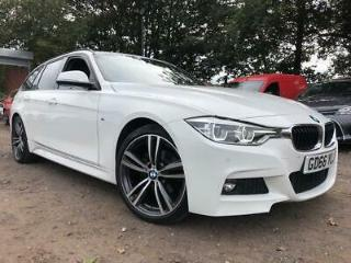 BMW 3 Series 2017 2.0 320i M Sport Touring AUTOMATIC s/s 5dr 1 OWNER, F/S/H