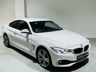 BMW 420d XDrive Coupe 2014 White 4 Series Diesel Manual 2 Door F30 F32