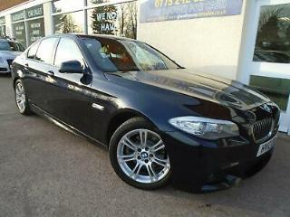 BMW 520 2.0TD 2012 d M Sport S/H Heated Leather