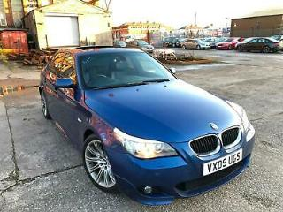 BMW 520D 2.0 M SPORT BUSINESS EDITION,HPI CLEAR,SUNROOF,SAT NAV,F/SERVICE HISTRY