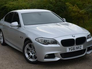 BMW 520d M Sport Auto FBMWSH Sat Nav Heated Seats 2 owners from new