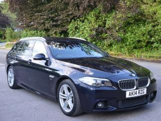 BMW 520d M Sport Touring 2014 FBMWSH Tow Bar 2 owners 73k