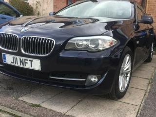 BMW 520d with Reverse Camera,Large SAT NAV,Touch Pad,Efficient Dynamics,£30 TAX