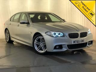 BMW 5 Series 2.0 520d M Sport 4dr 1 OWNER SERVICE HISTORY 2015, 57030 miles, £13695