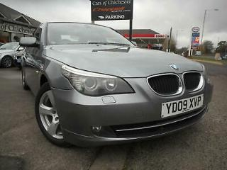 BMW 5 Series 520D SE Business Edition Manual Low Miles Leather Satellite Navigat