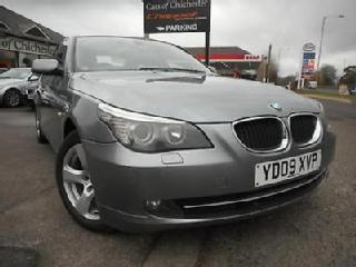 BMW 5 Series 520D SE Business Edition Manual with Sat Nav & Leather. 69000m FSH
