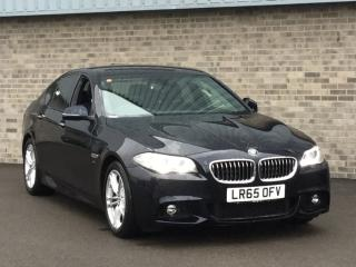 BMW 5 Series 528i M Sport 4dr Step Auto Saloon 2015, 18641 miles, £17999