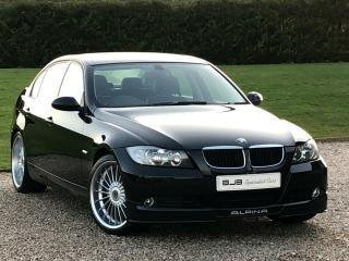 BMW ALPINA D3. BLACK SAPPHIRE WITH HALF BLACK LEATHER. 67,000 MILES FSH, LOVELY