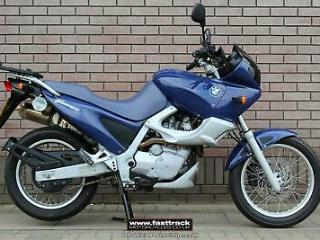 BMW F 650 STRADA 1998 S PLATE BLUE NATIONWIDE DELIVERY 1,400 MILES