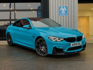 BMW M4 M4 2dr DCT Competition Pack Coupe 2019, 723 miles, £53788