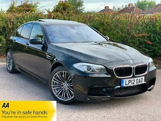 BMW M5 4.4 Auto 4dr Black HUGE SPEC + 1 OWNER + ONLY 29K + 2012